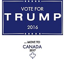 Trump Canada Shirt Photographic Print