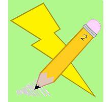 Thunder  Sketch's Cutie Mark! Photographic Print