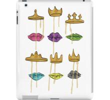 Dripping Crown (All Lips) iPad Case/Skin
