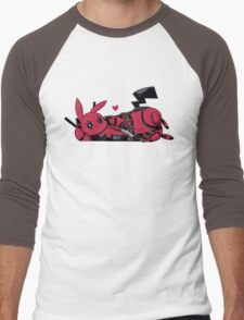 Pikapool Men's Baseball ¾ T-Shirt