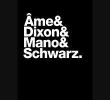 Ame & Dixon & Mano & Schwarz. Unisex T-Shirt