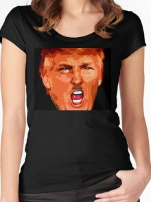 Donald J. Trump Women's Fitted Scoop T-Shirt