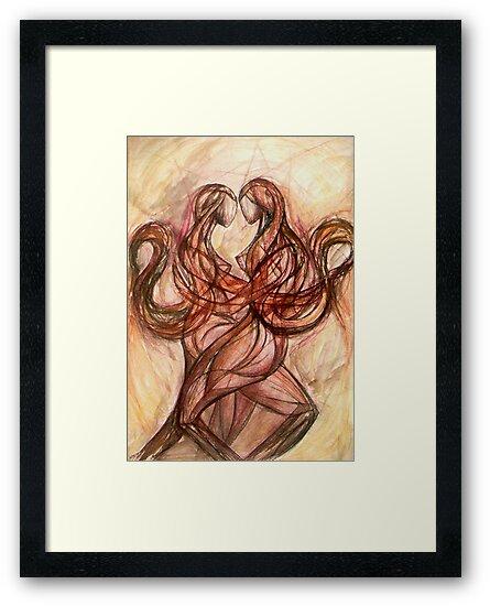 The Twins (Gemini) by Leni Kae