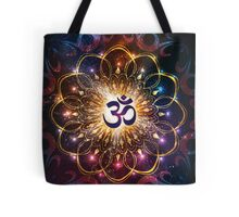 """The higher power of Om"" - sacred geometry Tote Bag"
