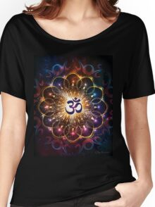 """The higher power of Om"" - sacred geometry Women's Relaxed Fit T-Shirt"