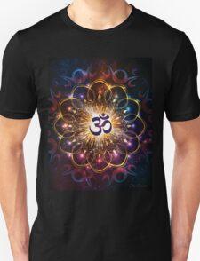 """""""The higher power of Om"""" - sacred geometry Unisex T-Shirt"""