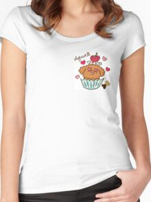 Aqua the Poodle ! - #2 Women's Fitted Scoop T-Shirt