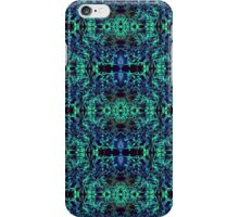 Blue & Green Matrix Web iPhone Case/Skin