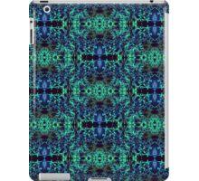 Blue & Green Matrix Web iPad Case/Skin