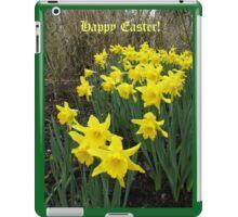 Easter Daffodils - Greeting Card iPad Case/Skin