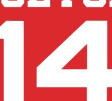 High School Musical Jersey Design: Troy Bolton Sticker