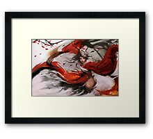 Epic Akali Painting Framed Print