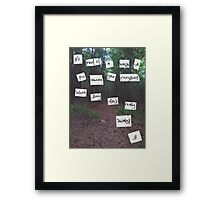 Give You My Everything Framed Print