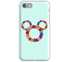 Floral Mickey Ears iPhone Case/Skin