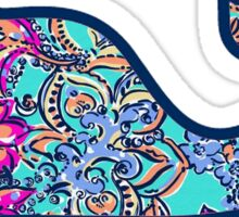 Lilly Whale Sticker
