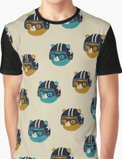racer bear Graphic T-Shirt