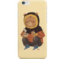 noodle bear iPhone Case/Skin