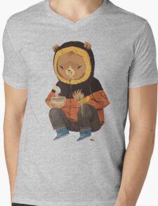 noodle bear Mens V-Neck T-Shirt