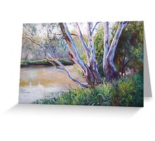 Redgums Greeting Card