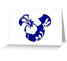 Hawaii Mickey Greeting Card