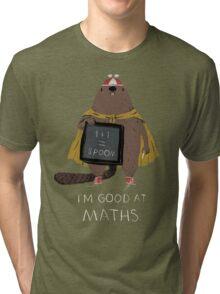 i'm good at maths Tri-blend T-Shirt