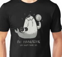 i'm handsome Unisex T-Shirt