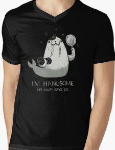 i'm handsome Mens V-Neck T-Shirt