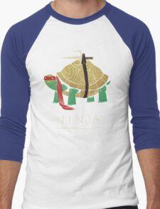 ninja - red Men's Baseball ¾ T-Shirt