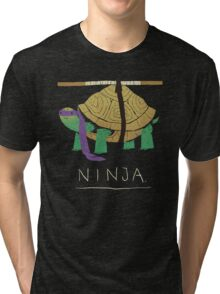 ninja - purple Tri-blend T-Shirt
