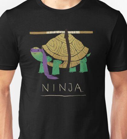 ninja - purple Unisex T-Shirt