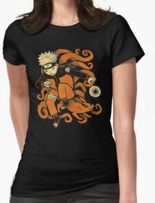 nine tails Womens Fitted T-Shirt