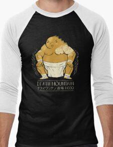 death mountain dojo Men's Baseball ¾ T-Shirt