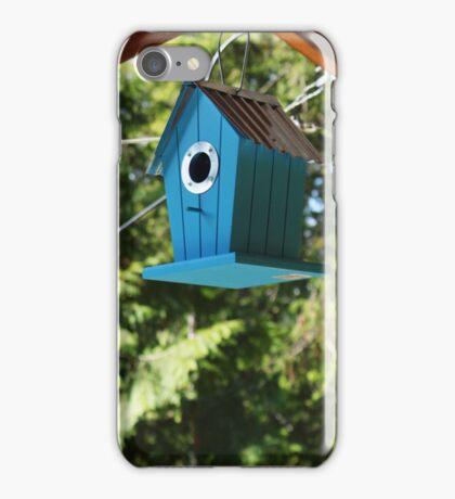 Blue Bird House iPhone Case/Skin