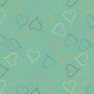 Hippy hearts by Morag Anderson