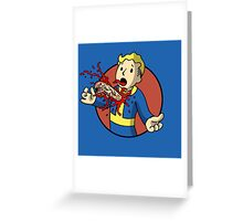 Vault Burster Greeting Card