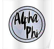 Alpha Phi Poster