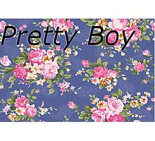 Pretty Boy Photographic Print
