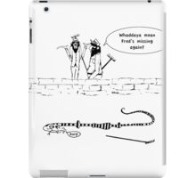 Zoo Humour -Cartoon 0005 iPad Case/Skin