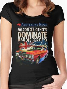 Ford Falcon XY GTHO Phase III (nostalgic) © Women's Fitted Scoop T-Shirt