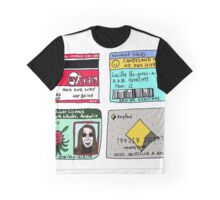 'TICKETS' graphic design by LUCILLE Graphic T-Shirt