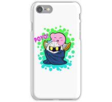 Kirby with Meta Knight iPhone Case/Skin