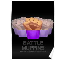 Miscellaneous - battle muffins Poster