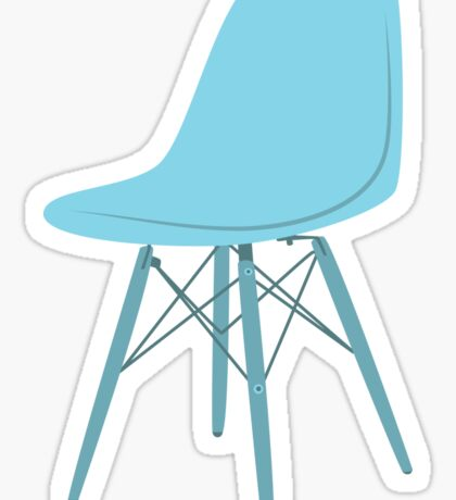 Ray & Charles Eames Side Chair Classic Design Sticker