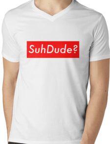 SuhDude Sticker (Preme x Getter) Mens V-Neck T-Shirt