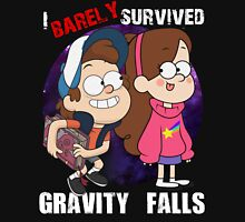 I Barely Survived Gravity Falls Unisex T-Shirt