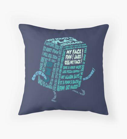 BMO - Typography Throw Pillow