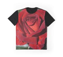 Hot Chocolate Rose Graphic T-Shirt