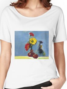 Flowers in Vase Women's Relaxed Fit T-Shirt