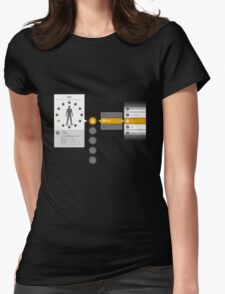Kirito Dual Wield Menu Womens Fitted T-Shirt