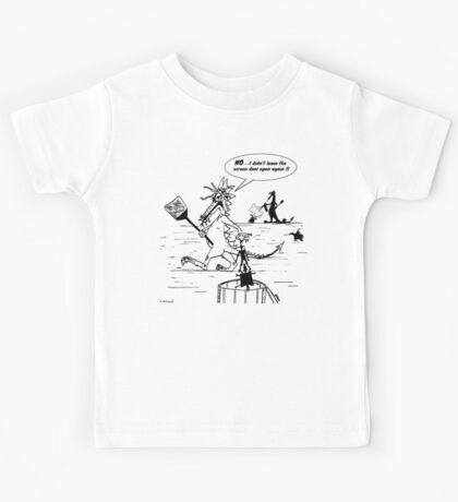 Zoo Humour - Cartoon 0006 Kids Tee